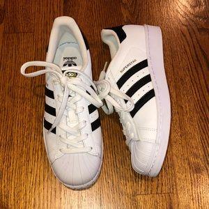 Girls Adidas Superstar Sneakers